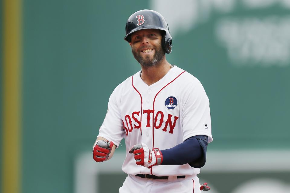 Dustin Pedroia announced his retirement Monday after a distinguished career with the Red Sox, cut short by knee troubles.