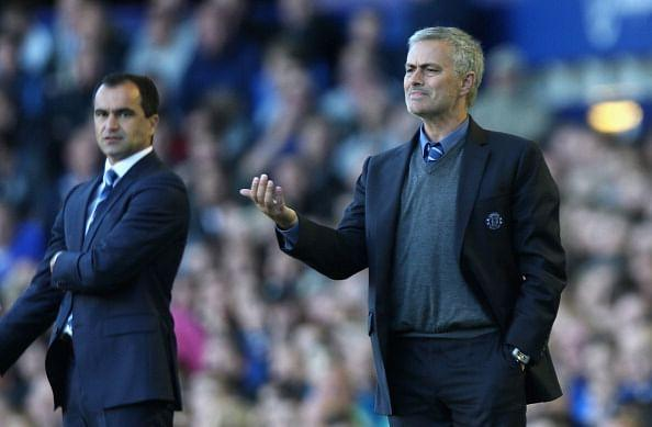 CONFUSED: Jose Mourinho can't figure out why his side went down to Everton