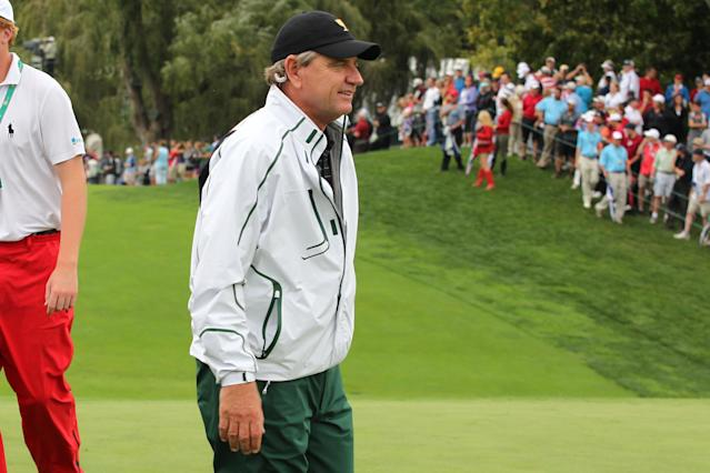 Nick Price made the first hole-in-one ever at the Mississippi Gulf Resort Classic