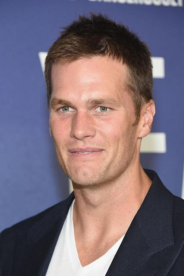 Tom Brady probably doesn't want to split a pizza with you. (Photo: Getty Images)