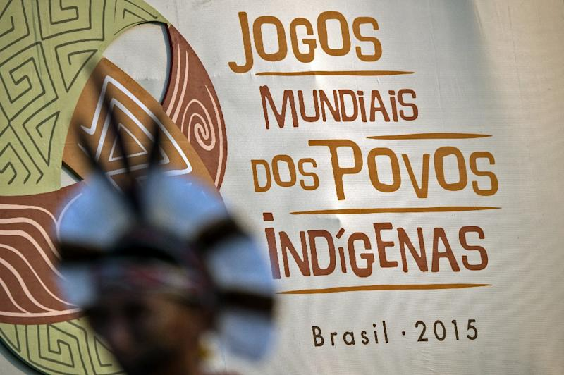 About 1,800 athletes from 23 countries are scheduled to take part in the World Indigenous Games in Palmas, Brazil (AFP Photo/Christophe Simon)