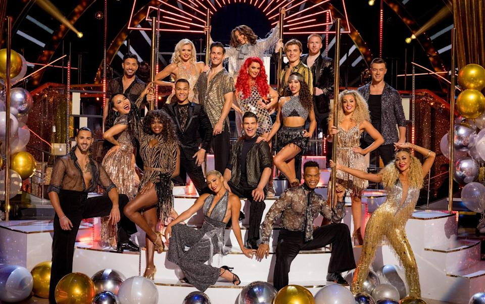 The Strictly Come Dancing professional dancers for 2021 - Guy Levy/BBC