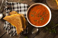 """<p>You can never go wrong with a classic. Make this yummy <a href=""""https://www.popsugar.com/food/disney-grilled-cheese-recipe-47388108"""" class=""""link rapid-noclick-resp"""" rel=""""nofollow noopener"""" target=""""_blank"""" data-ylk=""""slk:Disney grilled cheese"""">Disney grilled cheese</a> and pair it with the classic <a href=""""https://www.walmart.com/ip/Campbell-s-Condensed-Tomato-Soup-10-75-Ounce-Can/10321636"""" class=""""link rapid-noclick-resp"""" rel=""""nofollow noopener"""" target=""""_blank"""" data-ylk=""""slk:Campbell's Tomato Soup"""">Campbell's Tomato Soup</a> ($1).</p>"""