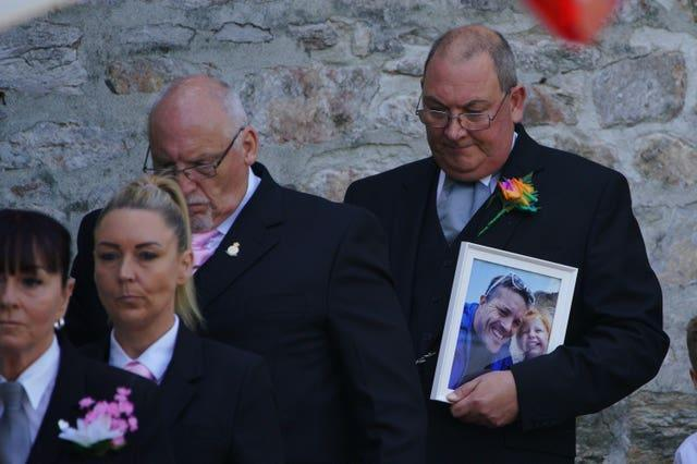 Lee and Sophie Martyn funeral