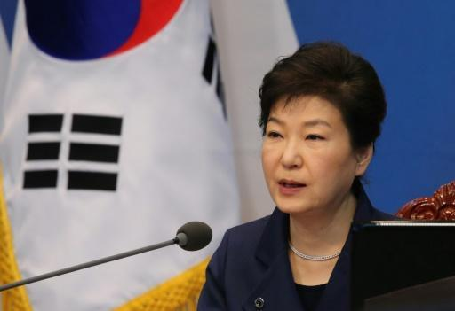South Korea's Park tells North to abandon nuclear weapons