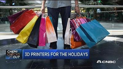 CNBC's Eric Chemi checks out whether consumer-level 3D printers are ready for the gift-giving season.