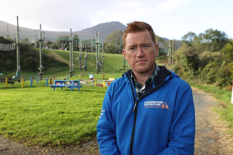 Adrian McGreevy, marketing manager of Carlingford Adventure Centre, Co Louth who said the combination of Brexit and the coronavirus represented the perfect storm for businesses like his.
