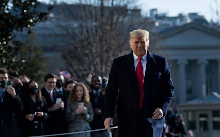 Trump becomes the first president in US history to be impeached twice - AFP