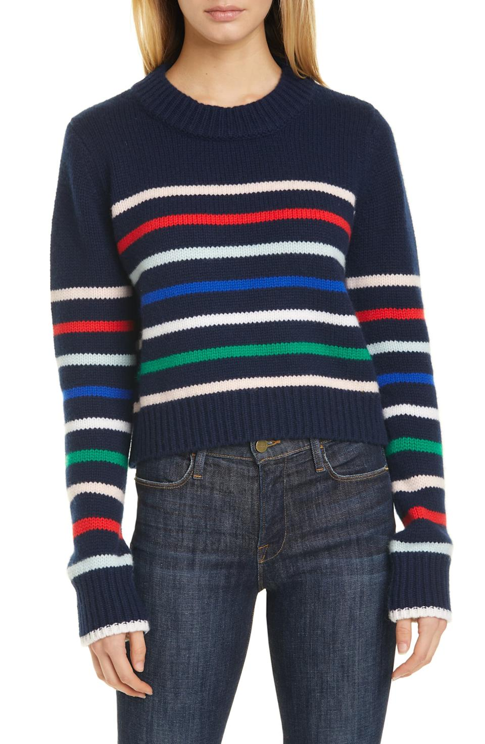 La Ligne Mini Maren Wool & Cashmere Sweater. Image via Nordstrom.