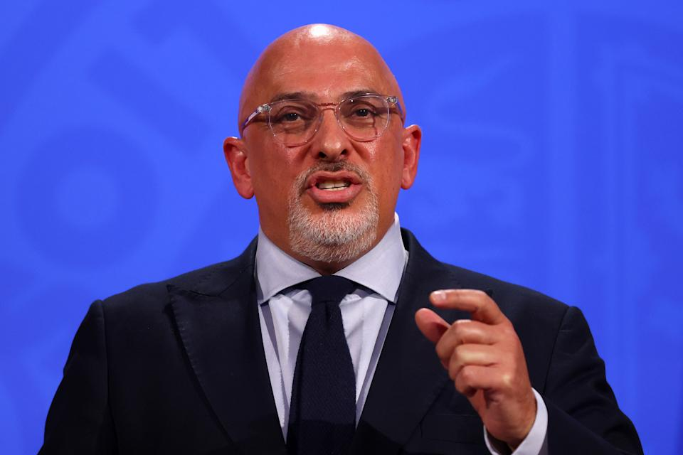 Vaccines minister Nadhim Zahawi, during a media briefing in Downing Street, London, on coronavirus (Covid-19). Picture date: Wednesday June 23, 2021.