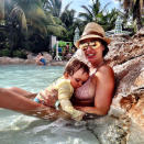 <p>Tamara Ecclestone posted two stunning snapshots of her breastfeeding her daughter Sophia while on holiday. But sadly the Formula 1 heiress was slammed for oversharing, with some of her Instagram fans telling her the pics were 'gross' and there was no need for her to post images of her 't**** hanging out'. <i>[Instagram/Tamara Ecclestone]</i> </p>