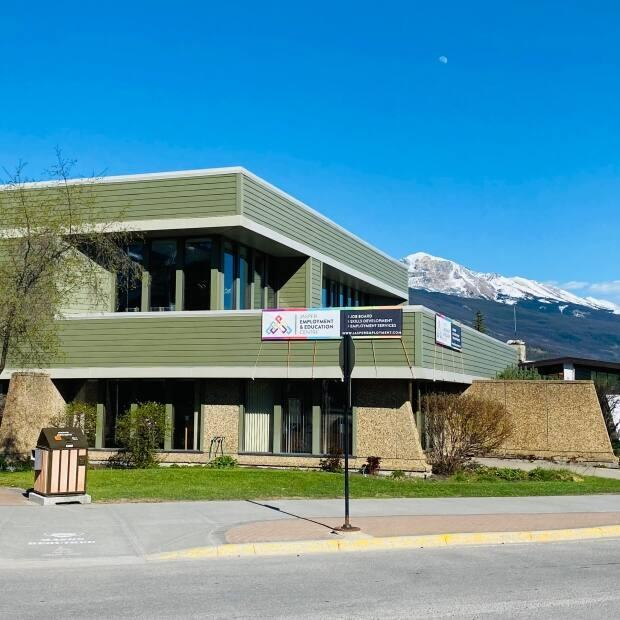 The Jasper Employment & Education Centre provides employment supports to job-seekers in the region. (Submitted by Ginette Marcoux - image credit)