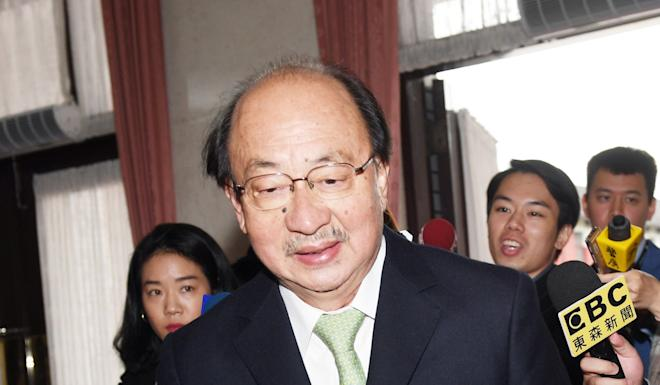 """DPP caucus whip Ker Chien-ming said they had """"tried in vain to reach a consensus"""" with KMT lawmakers. Photo: CNA"""