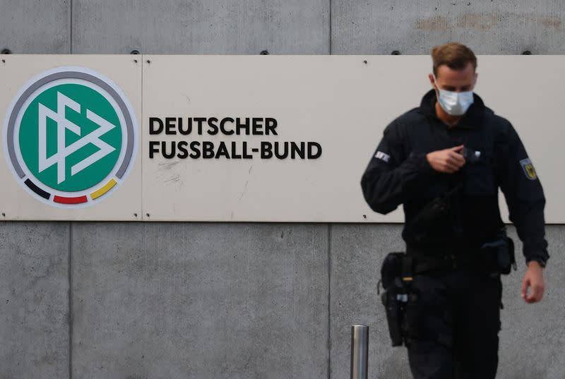 German authorities search offices, homes in DFB tax evasion probe