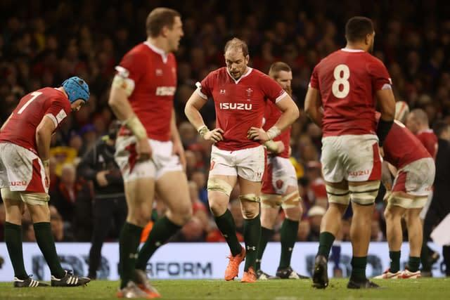 Wales have suffered back-to-back defeats (David Davies/PA)