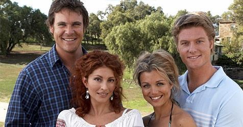 Stevie, Alex, Nick and Tess will all be making a comeback for the reunion. Photo: Nine