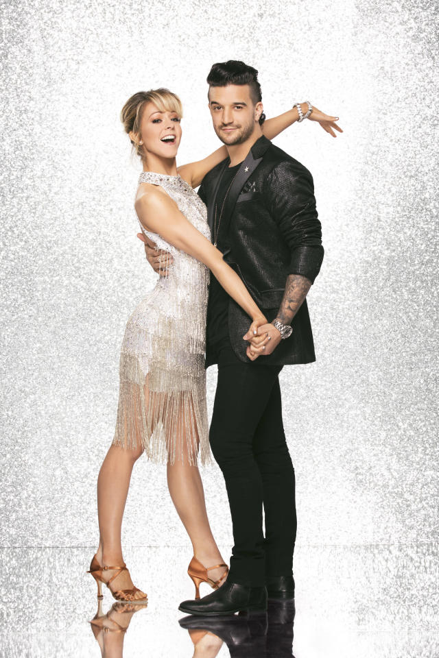 Lindsey Stirling and Mark Ballas (Photo: Heidi Gutman/ABC)