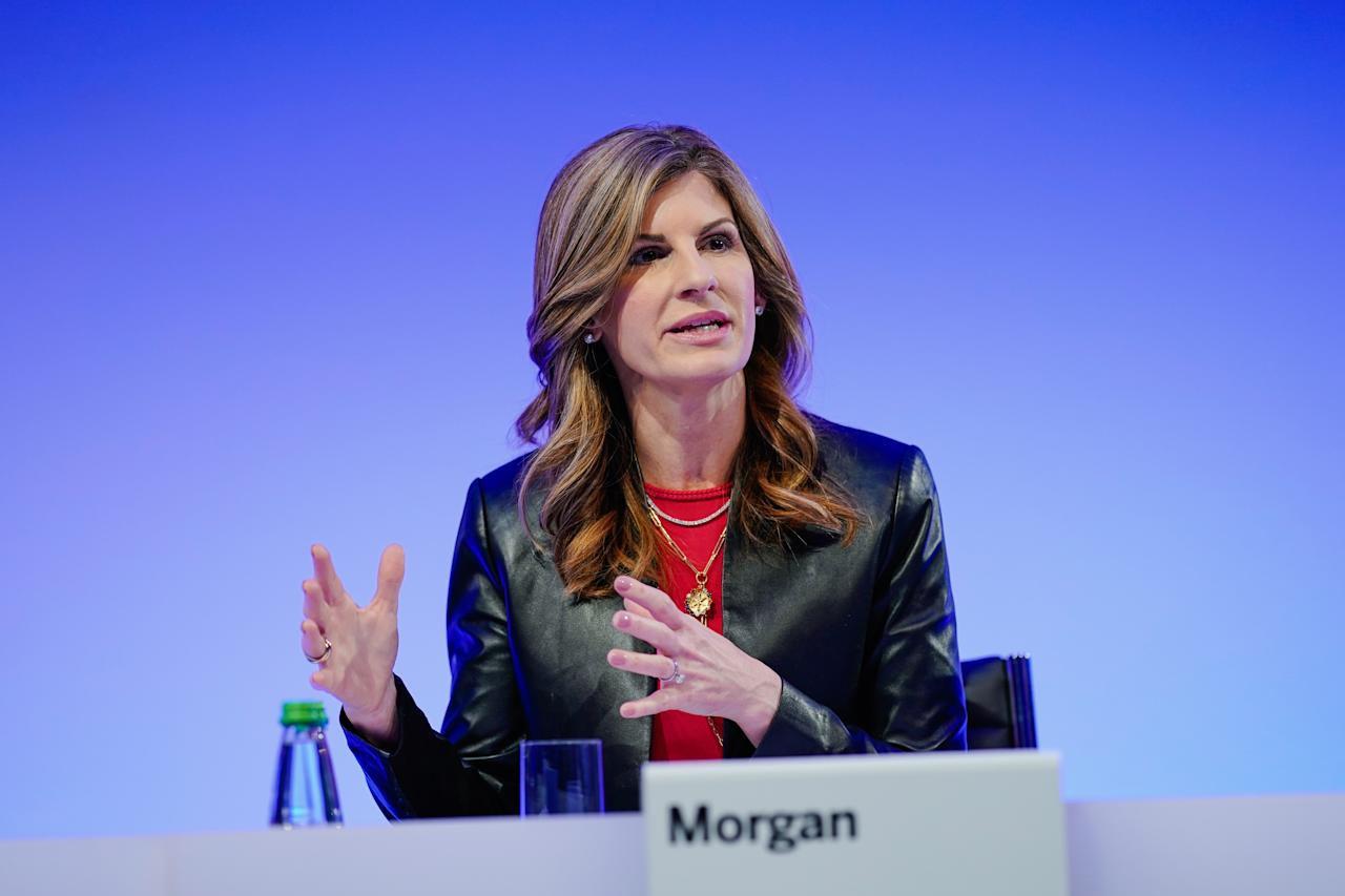Jennifer Morgan, 49, is an American technology executive. She is the former co-Chief Executive Officer at SAP SE. Morgan became the first American woman ever appointed to the SAP executive board in 2017. Morgan is the first female chief executive of SAP, and she is the first female CEO of a company on the DAX index. In April 30, 2020, Morgan stepped down from her position as co-CEO citing a mutual decision with the company board.