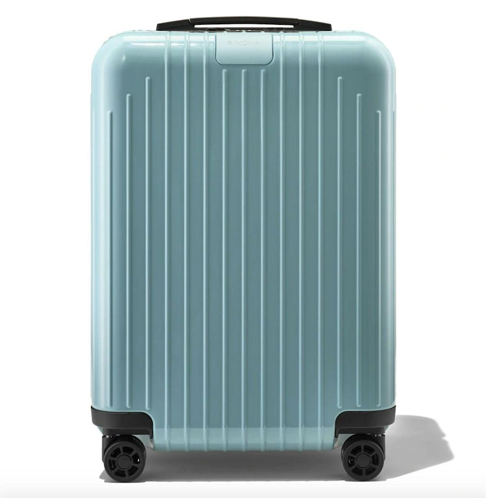 """<p><strong>Rimowa</strong></p><p><strong>$490.00</strong></p><p><a href=""""https://go.redirectingat.com?id=74968X1596630&url=https%3A%2F%2Fwww.rimowa.com%2Fus%2Fen%2Fluggage%2Fcolour%2Fwhite%2Fcabin-s%2F82352664.html&sref=https%3A%2F%2Fwww.esquire.com%2Flifestyle%2Fg2121%2Fmothers-day-gift-guide%2F"""" rel=""""nofollow noopener"""" target=""""_blank"""" data-ylk=""""slk:Buy"""" class=""""link rapid-noclick-resp"""">Buy</a></p><p>Get her a sturdy (but wonderfully lightweight) carryon-on—so she can finally toss that old, broken suitcase.</p>"""