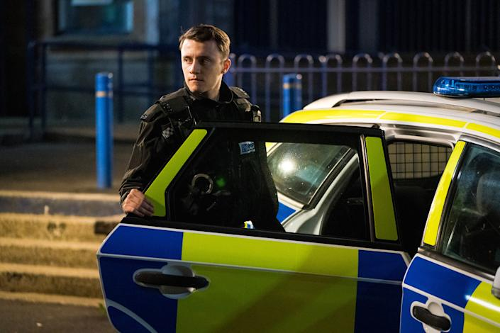 WARNING: Embargoed for publication until 00:00:01 on 30/03/2021 - Programme Name: Line of Duty S6 - TX: n/a - Episode: Line Of Duty - Ep 3 (No. n/a) - Picture Shows:  Ryan Pilkington (GREGORY PIPER) - (C) World Productions - Photographer: Steffan Hill