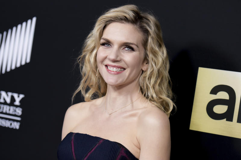 "FILE - In this Feb. 2, 2016 file photo, actress Rhea Seehorn attends the season two premiere of ""Better Call Saul"" in Culver City, Calif. The series, starring Seehorn and Bob Odenkirk, returns for its third season Monday at 10 p.m. EDT on AMC. (Photo by Richard Shotwell/Invision/AP, File)"