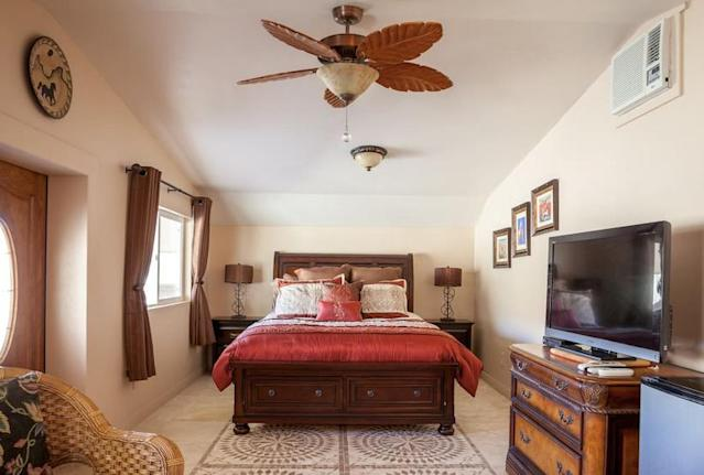 <p>For $106 a night, you can stay in its newly-remodelled guestroom. (Airbnb) </p>