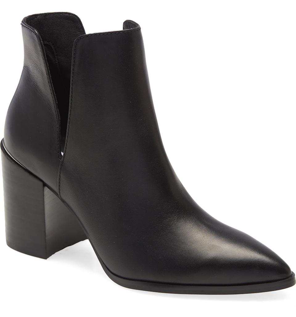 Steve Madden Kaylah Pointed Toe Bootie. Image via Nordstrom.