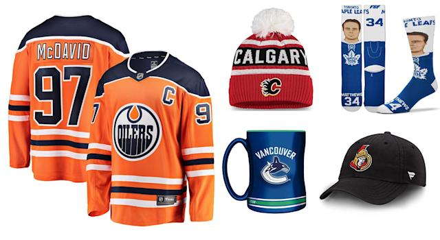 Shop these amazing NHL Cyber Monday deals from the NHLShop.