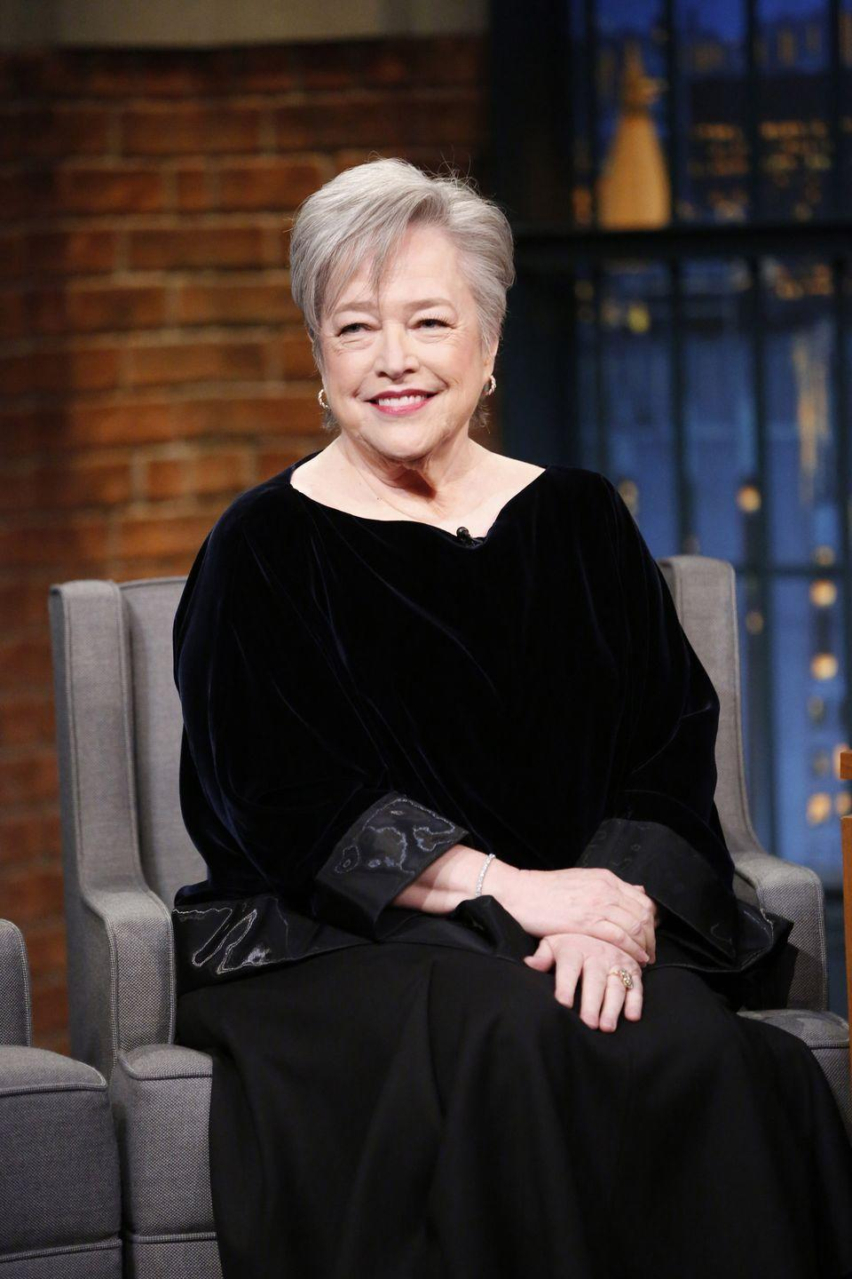 <p>Kathy Bates is another actress who spent significant time in the South: She was born and raised in Memphis, Tennessee, and graduated from Southern Methodist University in 1969 with a degree in theatre.</p>