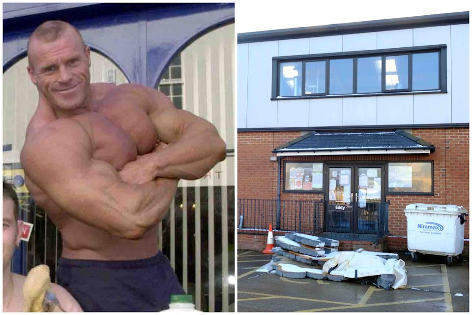 The bodybuilder was warned about keeping his gym open during lockdown. (Reach)