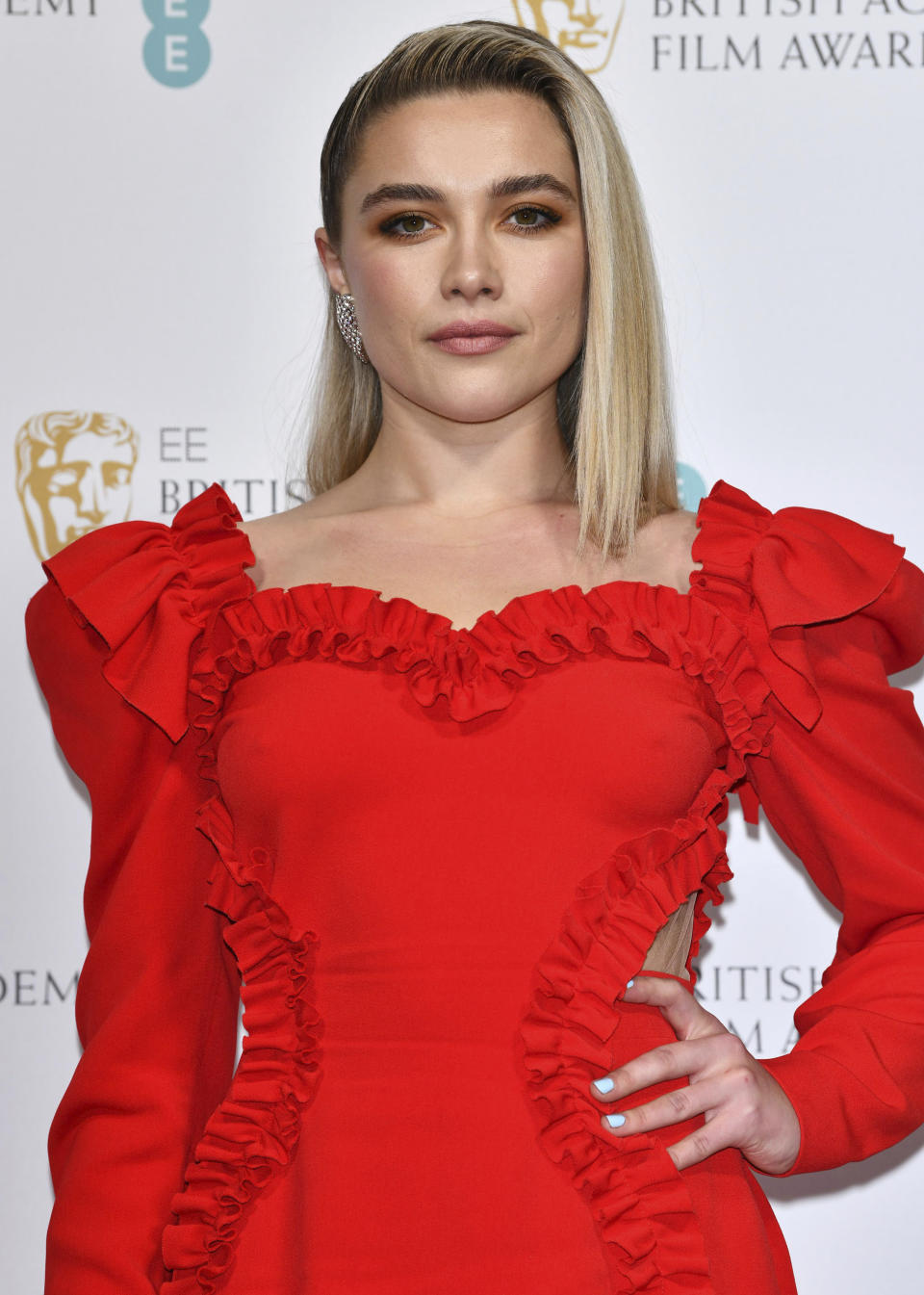 Florence Pugh has previously addressed the criticism she's received for the age gap in her relationship. (zz/KGC-03/STAR MAX/IPx)