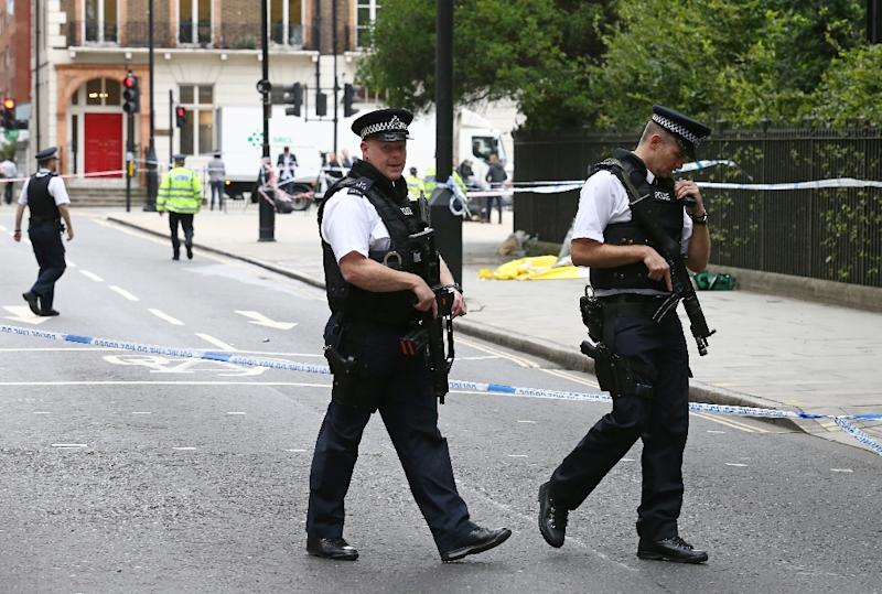 London's police force are asking the public for help to tackle the wave of acid attacks (AFP Photo/JUSTIN TALLIS)