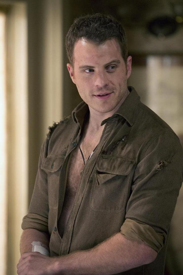"""True Blood"" will add another Brit to the cast to keep Stephen Moyer company. Rob Kazinsky, a veteran of ""EastEnders"" and ""Brothers & Sisters,"" will play Ben Flynn, who by the looks of it gets in at least one shirt-shredding standoff."