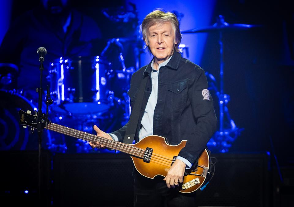 Paul McCartney, 79, says John Lennon prompted the Beatles split, according to a new report. (Photo: Samir Hussein/WireImage)