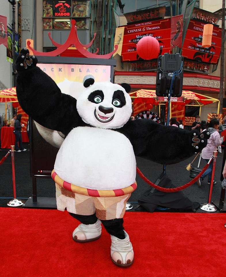"""The Los Angeles premiere of <a href=""""http://movies.yahoo.com/movie/1810090593/info"""">Kung Fu Panda 2</a> on May 22, 2011."""