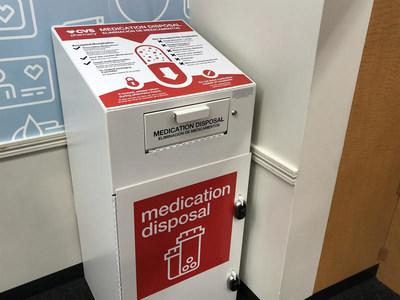 CVS Health has safe medication disposal at over 1,700 CVS Pharmacy locations across the country.