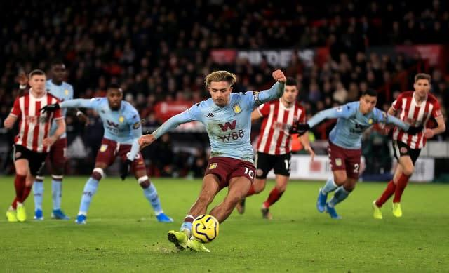 Aston Villa v Sheffield United is set to be the first match of the resumption on June 17 (Mike Egerton/PA)