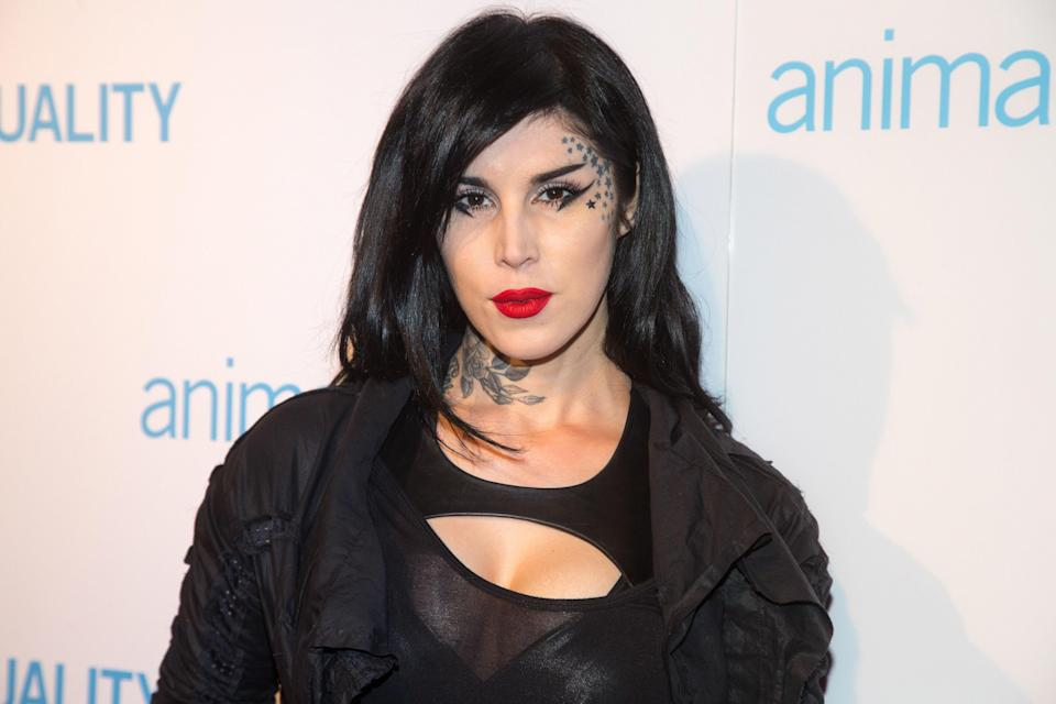 Kat Von D has been accused of romanticizing mental illness due to her Basket Case eyeliner.