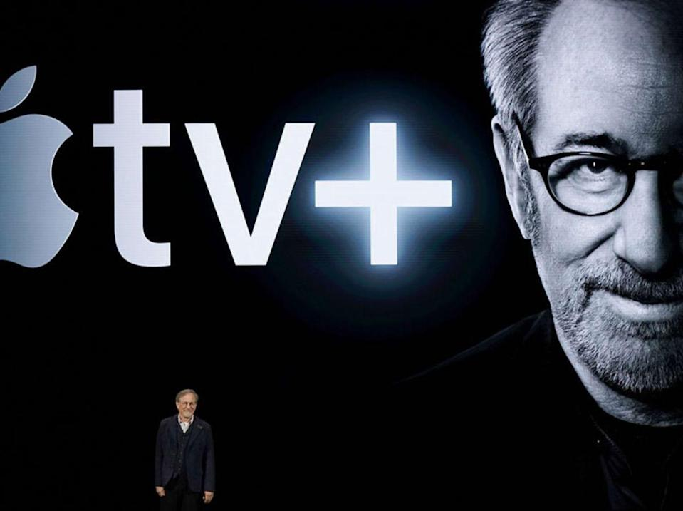 Steven Spielberg's Apple Event appearance criticised