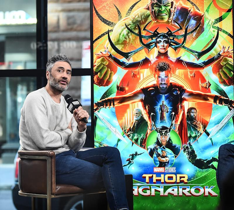 Taika Waititi, the director of 'Raganork', the third film in Marvel's Thor series, pictured in New York last year: WireImage