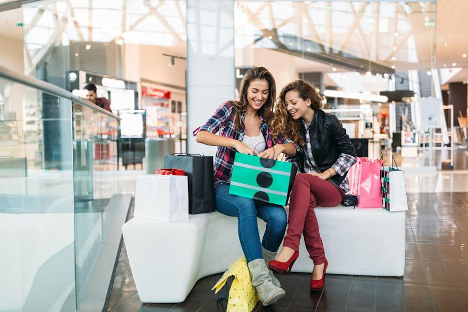 <p>Take each other shopping for comfy new sweaters, plaid flannel shirts, snuggly scarves, or other fall weather essentials. Picking out each other's clothes and offering flattering feedback can take flirting in a fun new direction. </p>