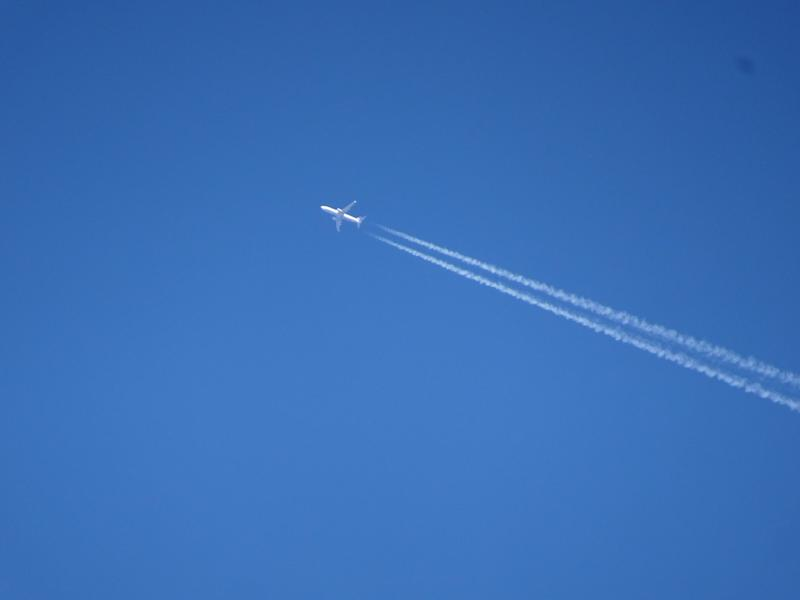 """The vapour trails left by planes have a more damaging effect on the climate than all the carbon dioxide ever emitted from their engines, according to the findings of a new study. Contrails linger in the sky as ice clouds (cirrus clouds) that trap heat in the Earth's atmosphere, an unaccounted source of non-CO2 warming from air travel.And researchers from the Institute of Atmospheric Physics in Germany say the problem is set to triple by 2050.Already flying is responsible for 5 per cent of global warming, with the industry set to dramatically expand in the coming decades and little political appetite to stymie this growth. """"It is important to recognise the significant impact of non-CO2 emissions, such as contrail cirrus, on climate and to take those effects into consideration,"""" said lead author Lisa Bock from the German Aerospace Centre at the Institute of Atmospheric Physics.The Corsica agreement, which is the UN's scheme to offset air traffic carbon emissions from 2020, ignores the non-CO2 climate impacts of aviation.However, the new study will raise alarm over the climate impact of contrails. Researchers say the radiative forces of contrails will increase relatively more than the rise in CO2 because planes of the future will be more fuel efficient. Overall air traffic is set to be four times larger in 2050 compared with 2006 levels, but planes are generally flying slightly higher, which favours the formation of contrails in the tropics. Areas over North America and Europe will be most affected as this is where most traffic is, according to the study published in the European Geosciences Union journal Atmospheric Chemistry and Physics.Dr Bock said: """"There are still some uncertainties regarding the overall climate impact of contrail cirrus and, in particular, their impact on surface temperatures because contrail cirrus themselves and their effects on the surface are ongoing topics of research. But it's clear they warm the atmosphere.""""More efficient aircraft would re"""