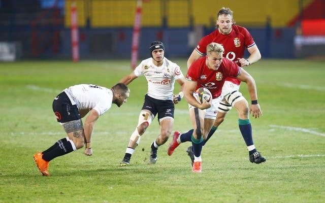 Duhan van der Merwe will face his country of birth this weekend