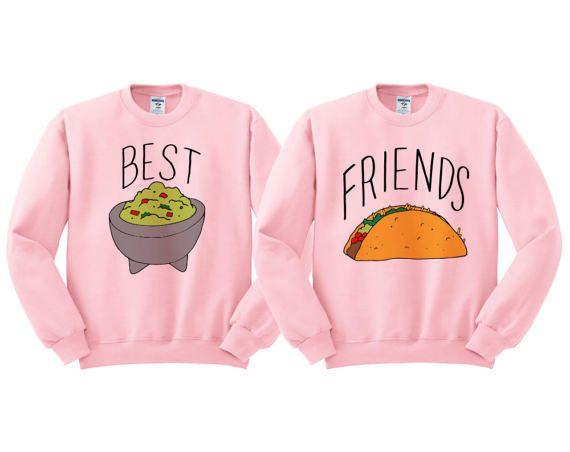"""<a href=""""https://www.etsy.com/listing/520109867/best-friends-guac-and-taco-crewneck-duo"""" target=""""_blank"""">Shop them here</a>."""