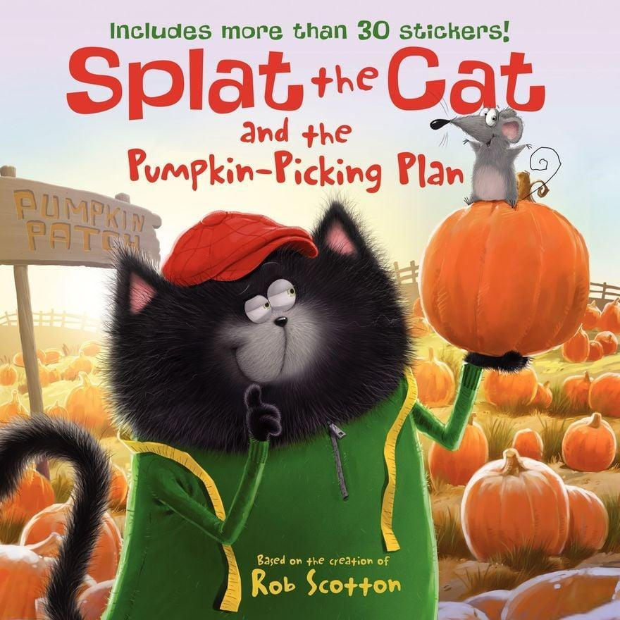 <p>Prepare your family for a trip to the pumpkin patch by reading <span><strong>Splat the Cat</strong></span> ($5). In this kid-friendly read, Splat and Seymour learn that the hardest part isn't finding the perfect pumpkin but getting it home.</p>