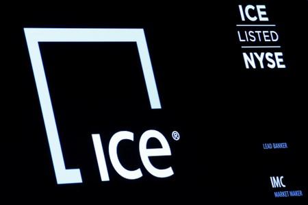 NYSE-owner ICE beats profit view on growth in transaction, data units