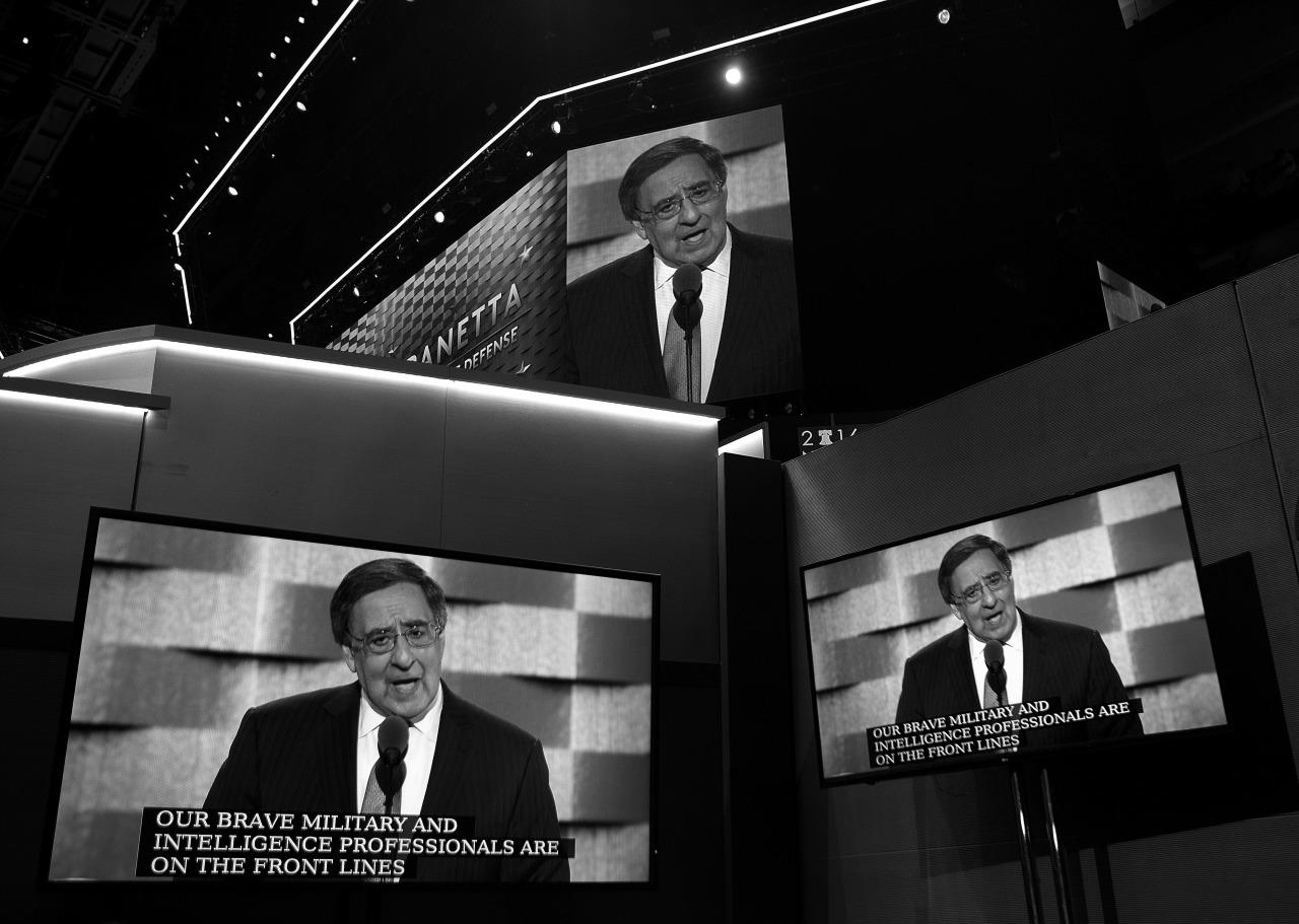 <p>Former Defense Secretary Leon Panetta, speaks during the third day of the Democratic National Convention in Philadelphia , Wednesday, July 27, 2016.  (Photo: Khue Bui for Yahoo News)</p>