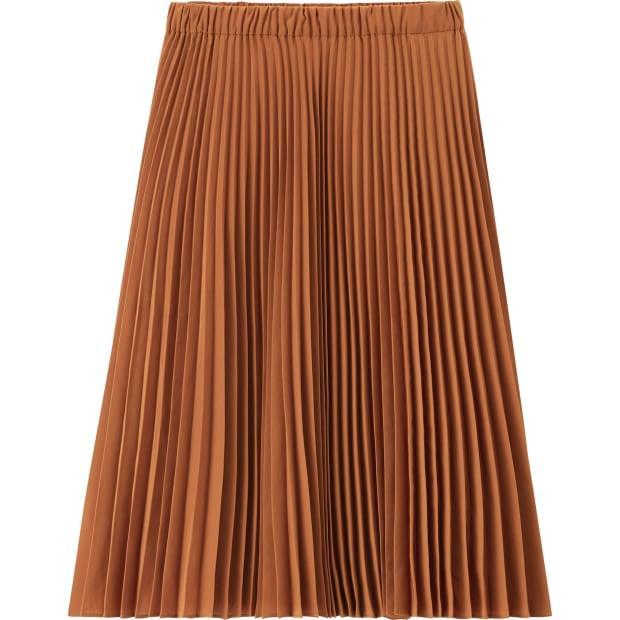 "<p>JW Anderson x Uniqlo Pleated Skirt, $29.90, <a href=""https://www.uniqlo.com/jwanderson/20fw/us/en/kids/"" rel=""nofollow noopener"" target=""_blank"" data-ylk=""slk:available here."" class=""link rapid-noclick-resp"">available here.</a> </p>"