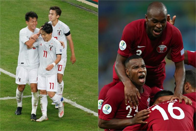 Japan and Qatar Not Just Making Up Numbers in Copa America