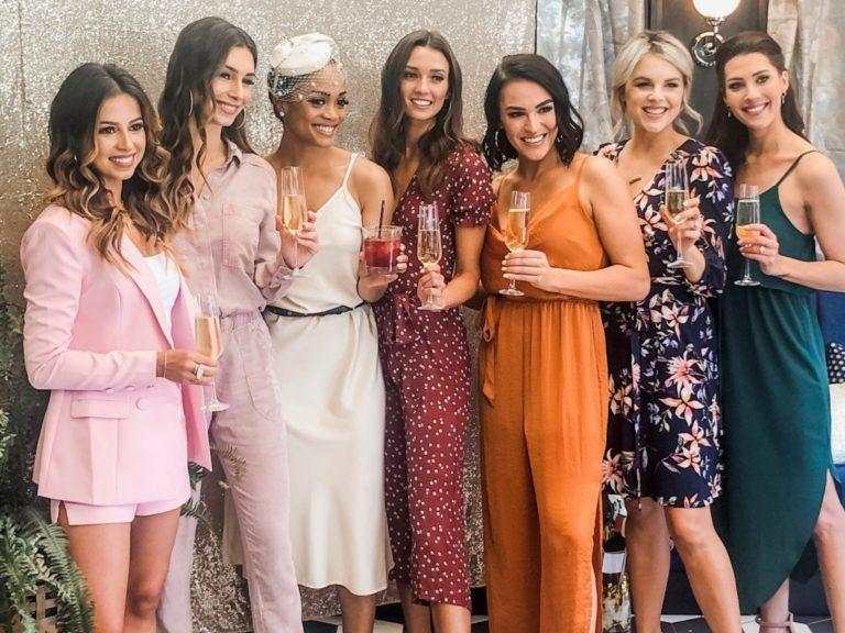 b0014d1caa0 Exclusive  See Photos from Bachelorette Rachel Lindsay s Bridal Shower